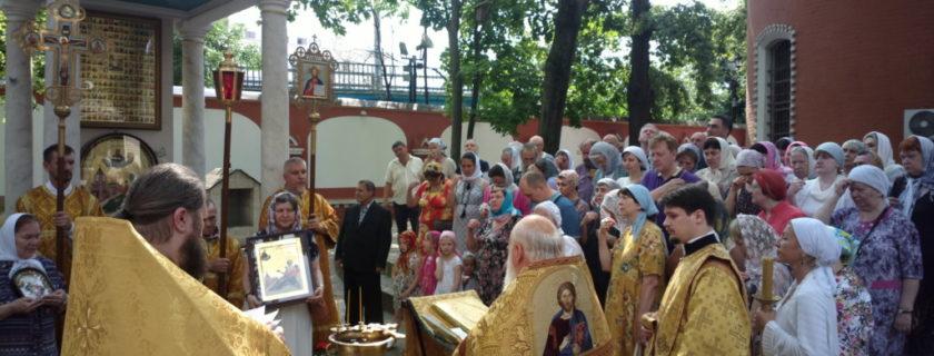 Представители Владыкинского СКТ приняли участие в праздновании дня памяти св. блж. Матроны Анемнясевской