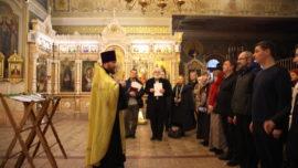 В храме на Соколе 1 января дали обеты трезвости