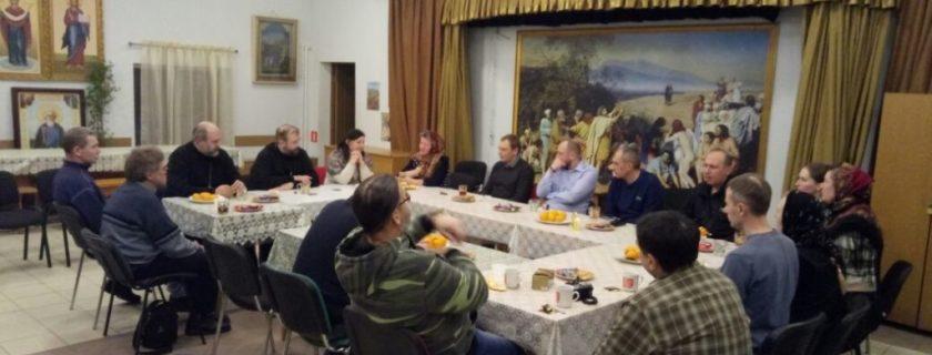 На приходской встрече обсудили вопроса создания СКТ в Митино