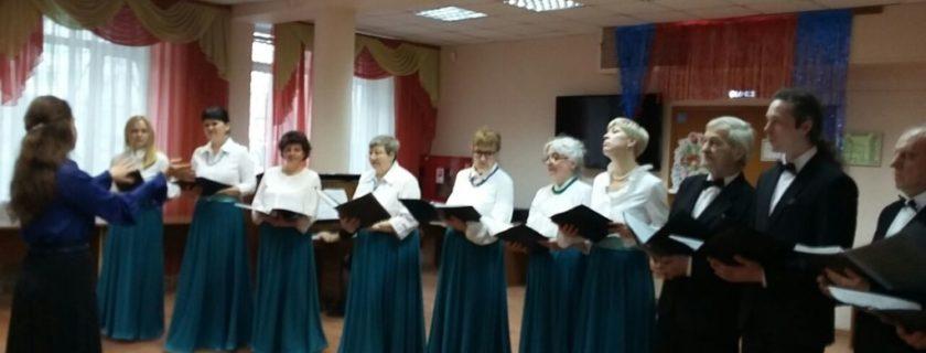 Концерт хоровой студии состоялся в библиотеке №51