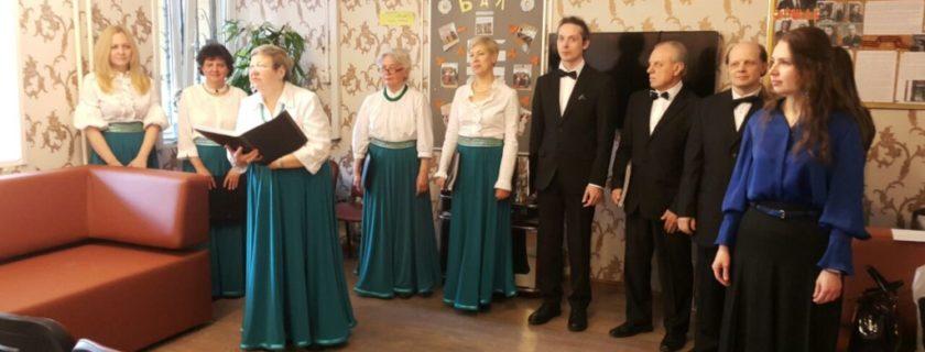 Хоровая студия СКТ выступила со вторым пасхальным концертом