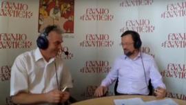 Дмитрий Девяткин на радио «Радонеж» о С.А. Рачинском